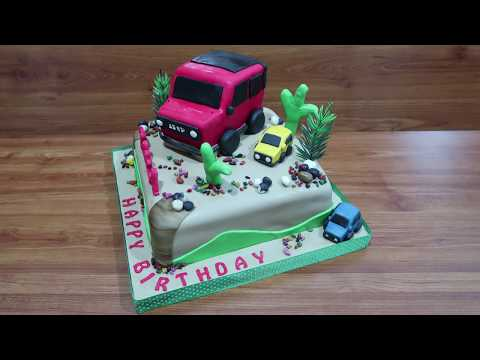 Jeep Cars How to Make Birthday Cake Toys Jeep Car New How to Decorating Cake Tart Unique