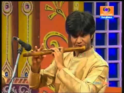 Carnatic Flute JA Jayanth  01 Paripalayamam Reethigaula