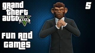 GTA Online: Fun and Games Ep. 5 (Consuela, Banana Bus)