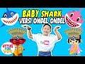 Baby Shark versi Ondel Ondel Betawi | Airriu Juragan Ondel Ondel ✿ Uyyus fun video