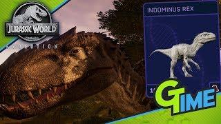 INDOMINUS REX DER BESTE DINO IM SPIEL! - Lets Play Jurassic World Evolution German | Gamerstime