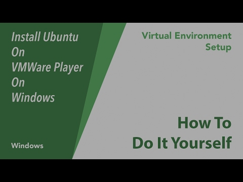 How To Install Ubuntu on Vmware Player on Windows