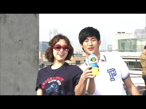 【TVPP】Kim Soo Hyun - Summer Vacation with Ham Eun-Jung, 김수현 - 함은정과 떠난 여름휴가 @ Section TV