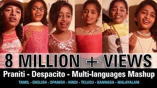 Praniti    Despacito   Multi-languages Mashup   [ Praniti Official Video ]