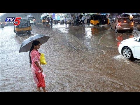 తెలుగు రాష్ట్రాల్లో భారీ వర్షాలు..! | Heavy Rains In Telugu States | TV5 News