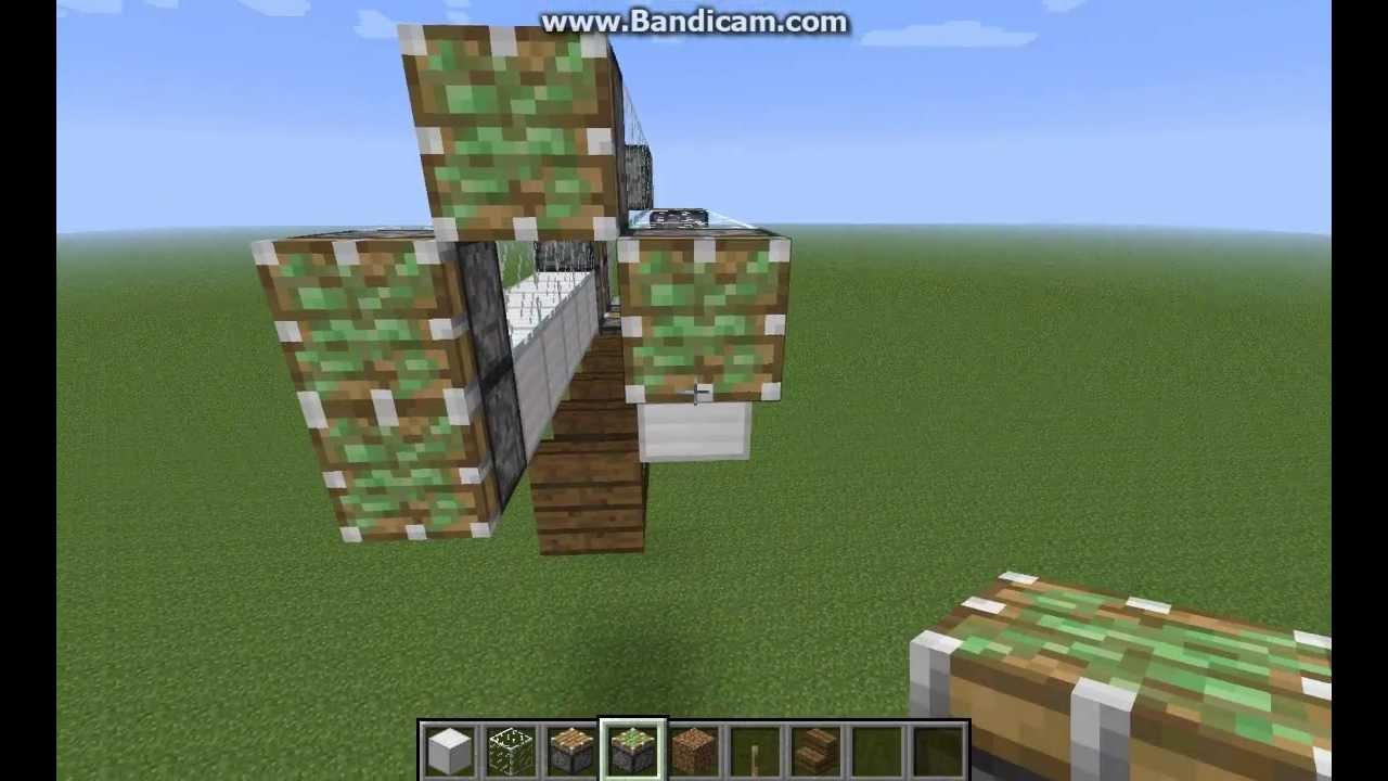 как сделать работающий телевизор в minecraft без модов