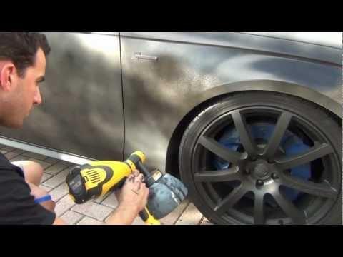 PlastiDip a WHOLE CAR - How-to by DipYourCar.com