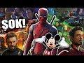Deadpool Avengers Filmlerinde Olacak! (Disney Foxu
