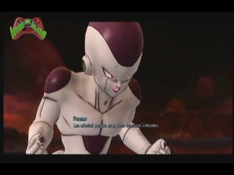 [XBOX 360] Dragon Ball Z Ultimate Tenkaichi - Modo historia - Goku Super Saiyajin Vs Freezer