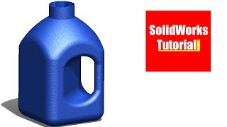 SolidWorks Tutorial #162: Bottle3