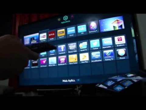 Samsung LED TV  UN40F5500 40 POL - Com Teclado e Mouse - Wiifi Microsoft
