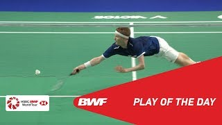 Play Of The Day | DANISA DENMARK OPEN 2018 SF | BWF 2018