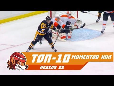 Проход Малкина, победный гол Панарина и воздушный Кросби: Топ-10 моментов 28-ой недели НХЛ