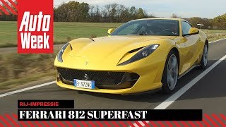 Ferrari 812 Superfast - AutoWeek review - English subtitles