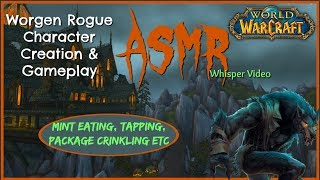 ASMR | Worgen Rogue Character Creation & Level Boost | A World of Warcraft Whisper Video
