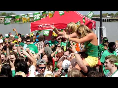 St. Patricks Day - Savannah Ga - Riverstreet