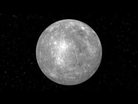 Rotation de la planète Mercure HD