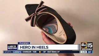 Valley woman creates high-heels focusing on comfort