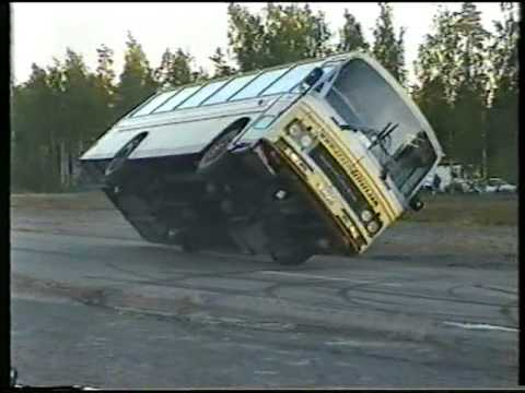 Crazy Drivers Stunt Show @ Hyvink - Finland 2005 - Bus To The Sunset
