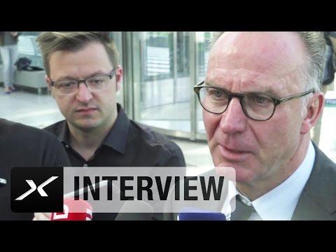 Karl-Heinz Rummenigge erwartet
