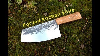 Knifemaking - Forged kitchen knife