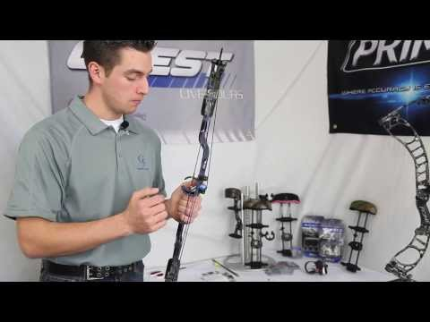 How to install the All New 2014 CMAX Full Containment Dropaway Arrow Rest by G5
