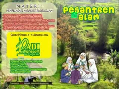 Pesantren Alam, Outbound Islami, Padi City Resort 2012 (1)