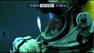 Red Bull Stratos Space Jump Live Stream Audio Full Felix Baumgartner Oct 14 2012