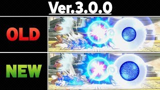 Smash Ultimate Patch 3.0.0 - Side by Side Comparison