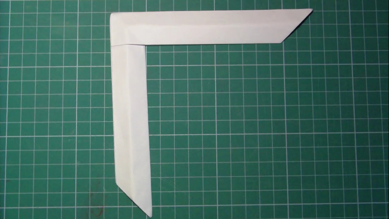 tutorial paper boomerang improvedorigami youtube