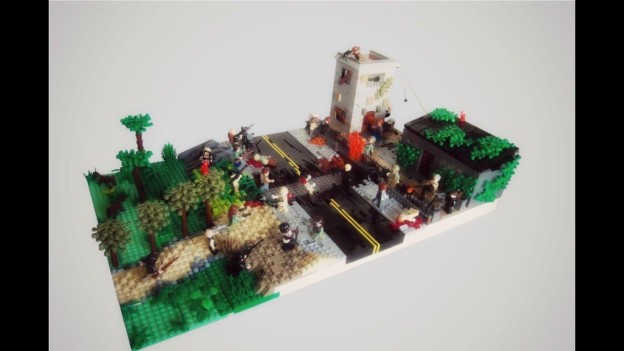 К построить из лего базу от зомби своими руками