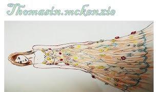Thomasin McKenzie In D&G Dress 4 ثوماسين بفستان دولتشي اند غابانا