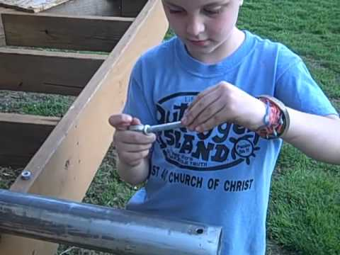 how to make a tetherball set