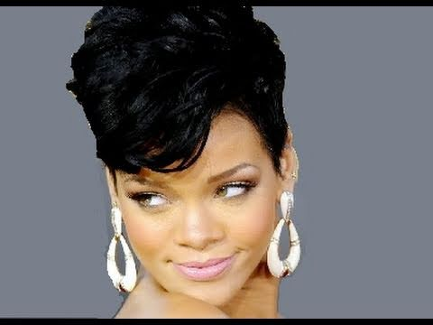 Rihanna Inspired Hair Tutorial