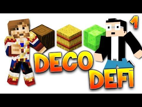 Fanta et Bob - DECO DEFI  - Ep.1 : 3 blocks pour une maison de rêve