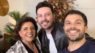 Gravando no domingo canal Leda Nagle com Brasil Paralelo e Danilo Gentili