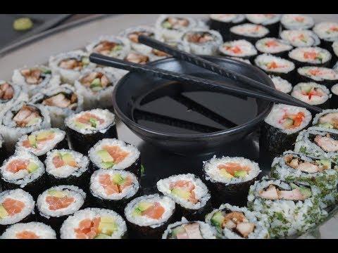 Kings Meal -Учимся готовить суши дома! (Trailer)