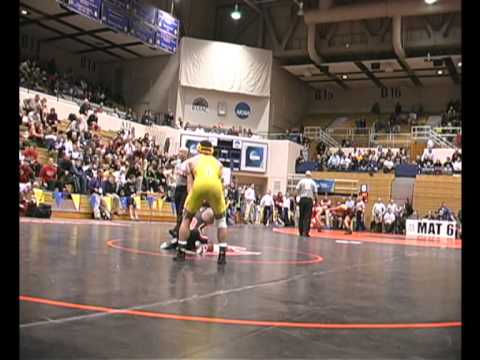 Mario Morgan (UNO) vs Naveed Bageheri (San Fran St) 2011 NCAA Wrestling 1/4 Finals (audio)