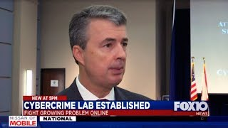 FOX10 News Report on Launch of Cybercrime Lab by Attorney General Steve Marshall
