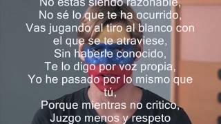 Carlos Baute Intenta Respetar Letra