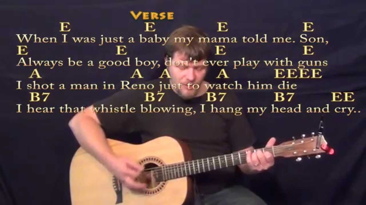 Guitar chords folsom