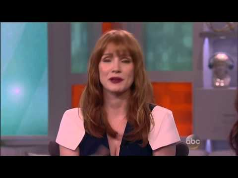 Jessica Chastain on The View [Sept. 18th, 2014]