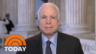 John McCain: We Need A Select Committee For Trump-Russia Probe (Exclusive) | TODAY