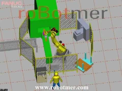 Taşıma Robotu Simülasyonu 9