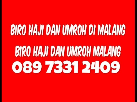Youtube haji plus malang