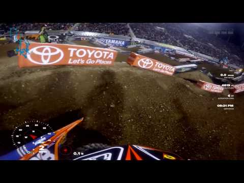 GoPro: Shane Mcelrath Main Event Win 2017 Monster Energy Supercross from Salt Lake City