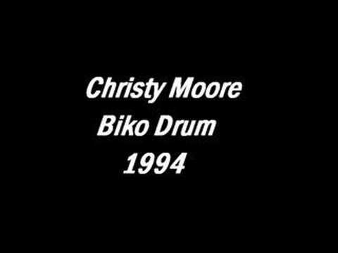 Christy Moore - Biko Drum