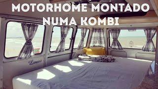 Motorhome Compacto Montado Numa Kombi