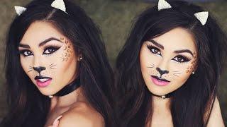 Halloween Cat Makeup Tutorial | Roxette Arisa