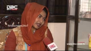 Sunny's wife Nasrin Sultana Yours @ DBC News 18 Feb/2017